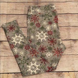 LuLaRoe Christmas Leggings TC2